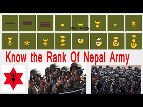 Identify The Rank Of Nepal Army | Lok sewa Help |