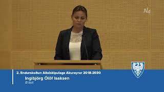 Fundur Bæjarstjórnar 16. október 2018