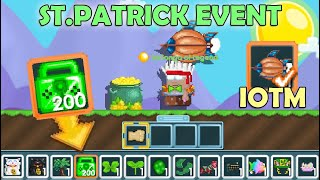 HOW TO PREPARE FΟR ST.PATRICK 2021 + NEW IOTM!! (EASY PROFIT) OMG!! | GrowTopia