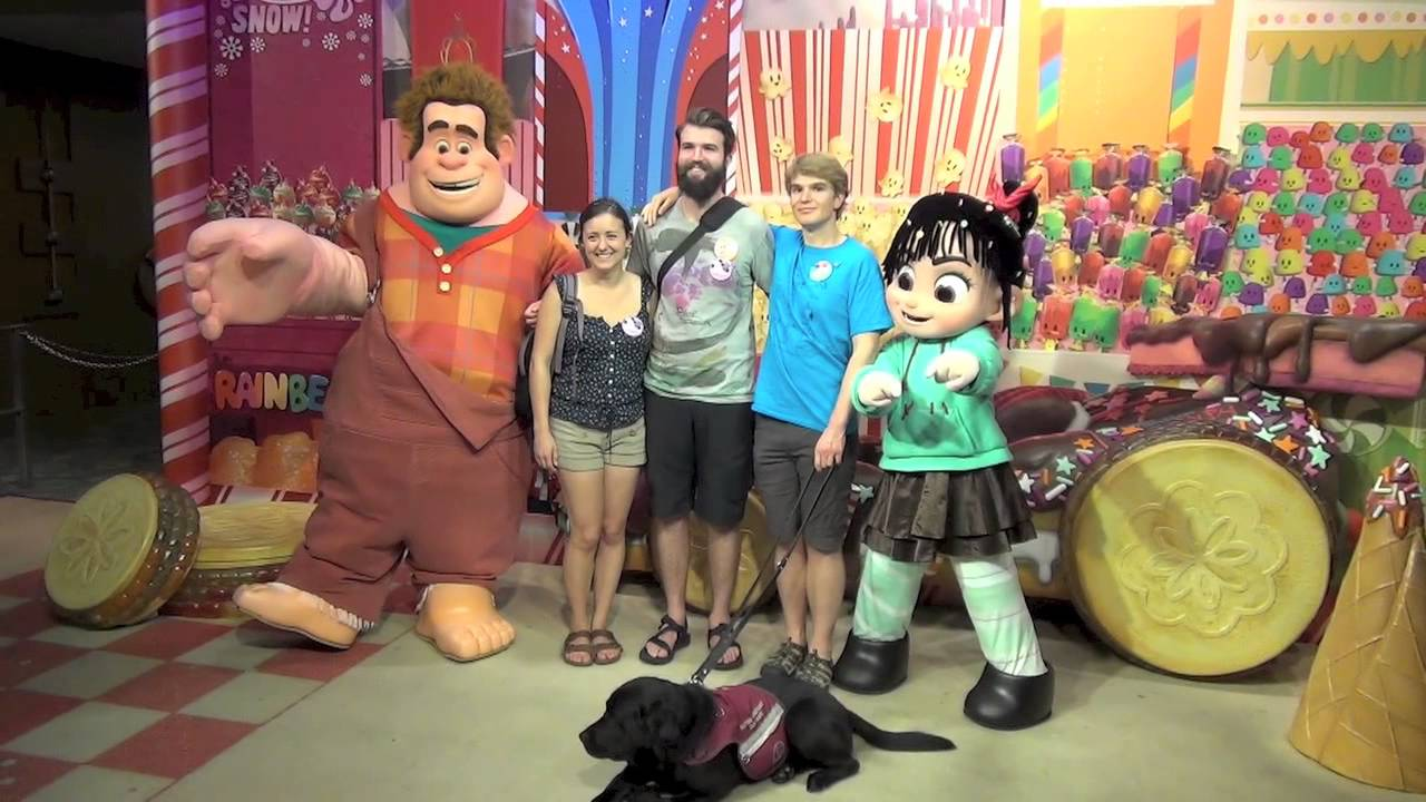 Wreck it ralph and vanellope meet tommys big brother paul and wreck it ralph and vanellope meet tommys big brother paul and laura kristyandbryce Choice Image