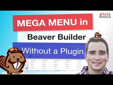 Beaver Builder Mega Menu Without Plugin WordPress Tutorial thumbnail