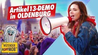 Uploadfilter? NICHT MIT UNS!   Gegen Artikel 13 Demo in Oldenburg   23.03.2019   Sara Casy