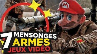7 MENSONGES sur les ARMES de JEUX VIDÉO thumbnail