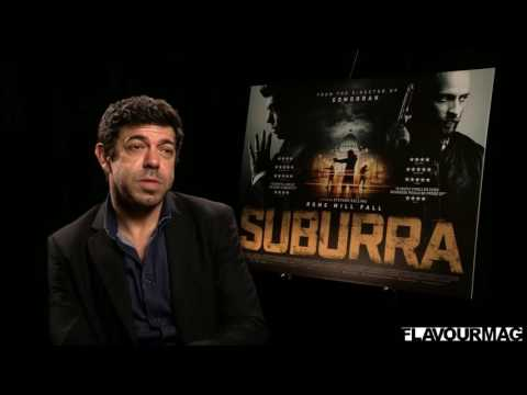 Pierfrancesco Favino Interview on 'Suburra'