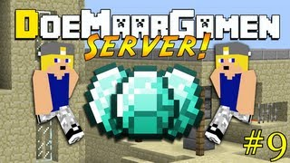 Minecraft - DoeMaarGamen server - #9 DUBLICATION BUG?, SERVER STUK!