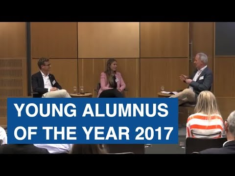 University of Glasgow Young Alumnus of the Year award 2017 – Susanne Mitschke and Patrick Renner