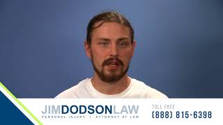 Car Accident Victim Shares His Experience with Jim Dodson
