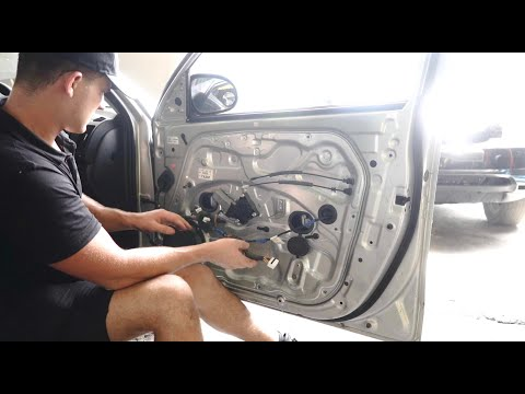 How to Fix and Install a Hyundai i30 Window Regulator Mechanism Assembly FD 07-12