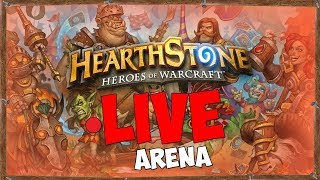 PACK OPENING & ARENA + HOTS [HEARTHSTONE LIVE ITA]