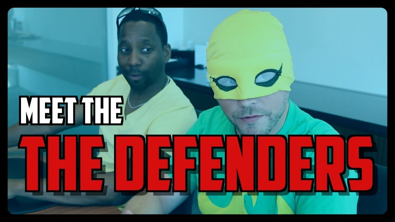 Sketch From Superheroes: Meet The Defenders