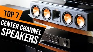 7 Best Center Channel Speakers 2018 Reviews