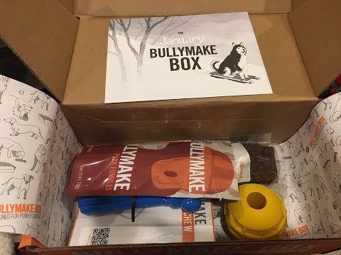 Bullymake Unboxing & Review - January 2018 for 40 Lb Dogs