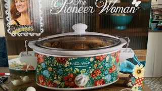 PIONEER WOMAN 6-QUART SLOW COOKER//