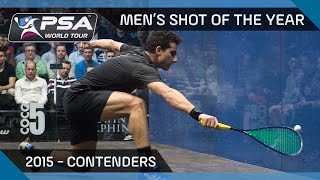Squash: Men's Shot Of The Year 2015 - The Contenders