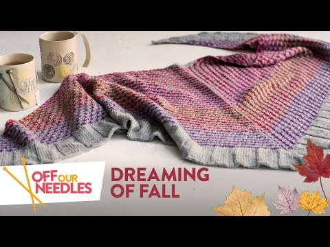 🍁 Dreaming of FALL 🍂 KAL check-in & Cozy favorites   Off Our Needles Knitting Podcast S2E7
