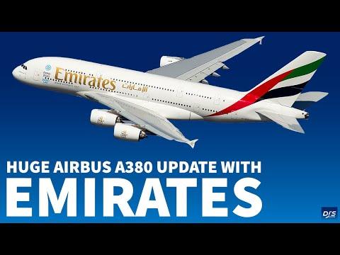 Massive Emirates A380 News