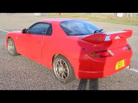 Mitsubishi FTO GPvR with Apexi N1 - Sound with revving and takeoff