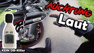 Akrapovic VS Ixil Hyperlow [KEIN DB-Killer] + DB Messung | Kawasaki Z1000