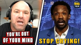 Dana White ARGUES over UFC fighter pay during ESPN interview, Nate Diaz trashes Usman & Burns, Costa