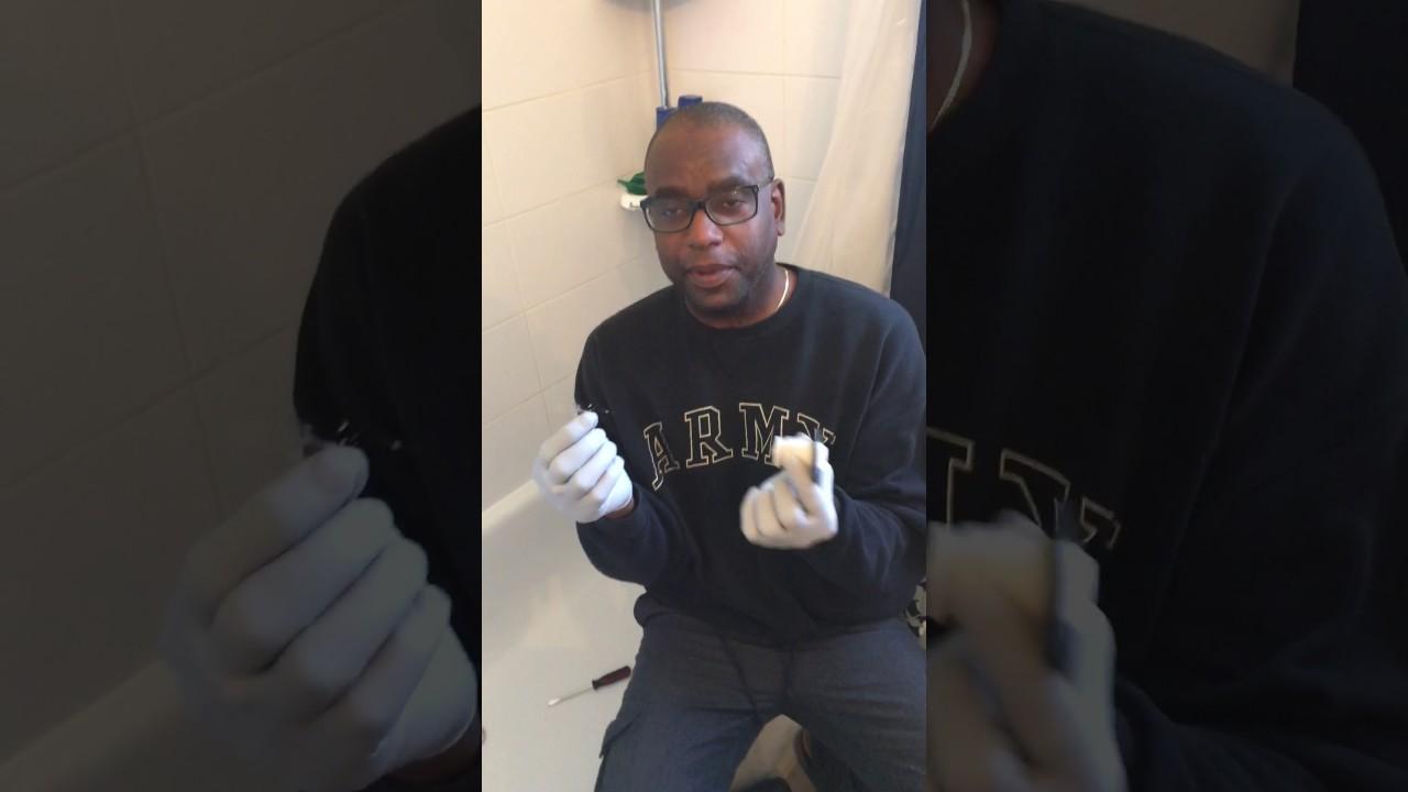 Moen Bathtub Stopper Removal - YouTube