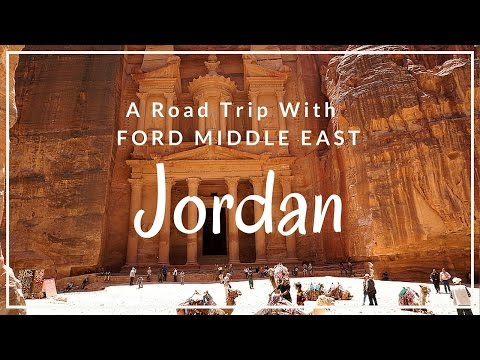 JORDAN Road trip with Ford Middle East- The Boho Chica Travel Vlog