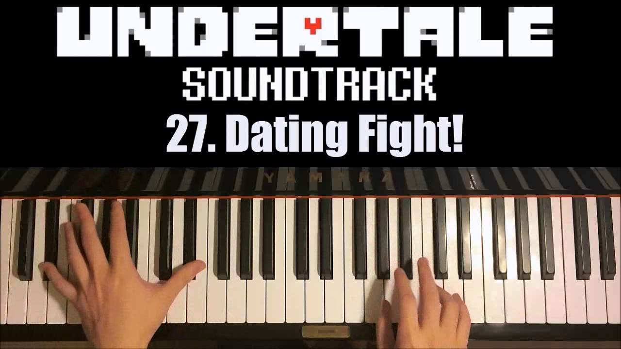 Dating fight undertake piano sheet