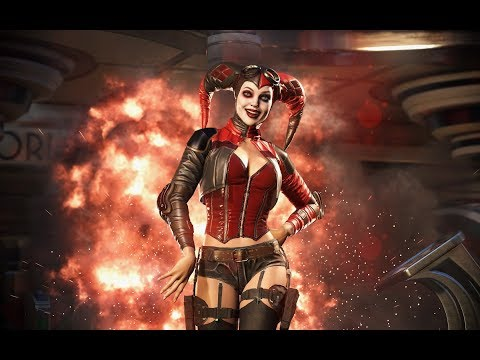 The Spaz Chronicles - Injustice 2 Arcade Mode Harley Quinn+Wonder Woman