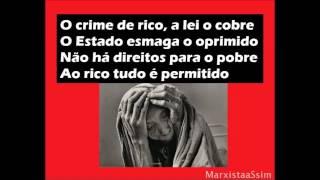 A Internacional Comunista com fotos de Sebastião Salgado