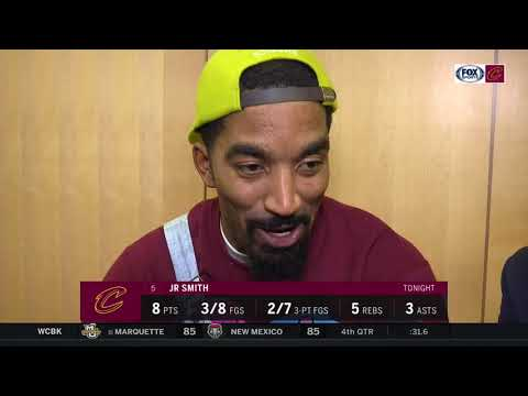 J.R. Smith on being down big against the Knicks & Cleveland Cavaliers rally behind Kyle Korver