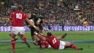 New Zealand v Wales Second Test 2016 | Rugby Video Highlights