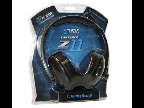 official photos 841ef bfa3d Turtle Beach Earforce Z11 PC Gaming Headset Review