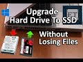 How to Upgrade Laptop Hard Drive To SSD Without Reinstalling Windows (Keep All Files & Apps) 2018