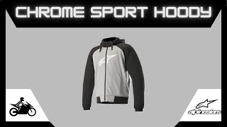 Alpinestars Chrome Sport Hoodie Fitting | Motorcycle Gear | TiMotoMan