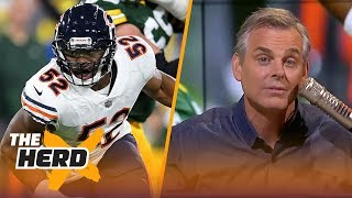 Colin on Green Bay 'escaping' with a win vs Chicago, Dallas losing to Carolina | NFL | THE HERD