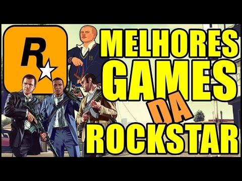 TOP 10: OS MELHORES JOGOS DA ROCKSTAR GAMES