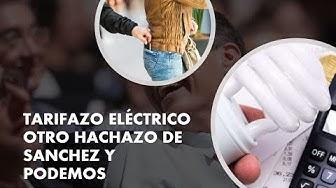 Imagen del video: DANIEL LACALLE: Tarifazo eléctrico de Sánchez para disparar la luz