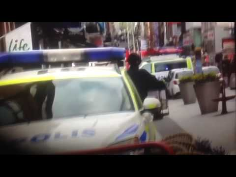 Terrorattack in Stockholm, warning for sensitive pictures