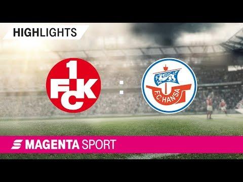 1. FC Kaiserslautern - Hansa Rostock | Spieltag 16, 19/20 | MAGENTA SPORT
