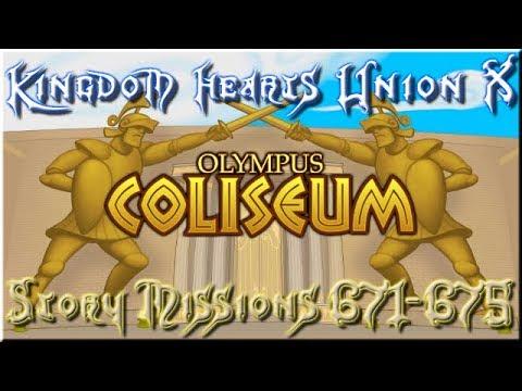 Kingdom Hearts Union X (Cross) | Story | 671 - 675