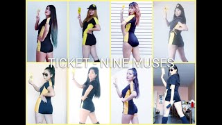 Nine Muses - Ticket, 나인뮤지스 - 티켓  cover by Brave Queens #yome…