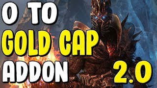 """0 To Gold Cap Addon """"WorthIT"""" 2.0 New UI And Features In WoW BFA 8.2.5 - Gold Farming, Gold Making"""