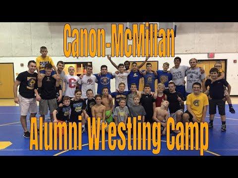 Canon-McMillan Alumni Wrestling Camp