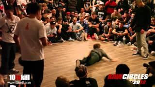 Lagaet & Bruce Almighty Vs Xisco & Shane - RawCircles 2012 - Final