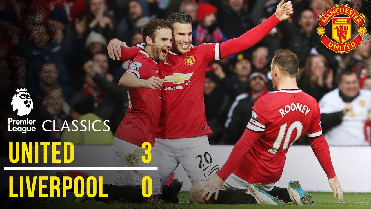 Manchester United 3 0 Liverpool 14 15 Premier League Classics Manchester United Youtube
