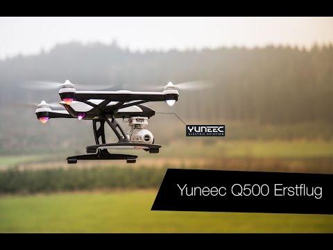 Yuneec Q500 Typhoon Quadrocopter Erstflug unbearbeitet!