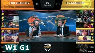 Video Echo Fox Academy  vs FlyQuest Academy | Week 1 NA Academy League Summer 2018 | FOXA vs FLYA download MP3, 3GP, MP4, WEBM, AVI, FLV Juni 2018
