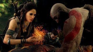 God of War Part 5 Die Waldhexe PS4 PRO