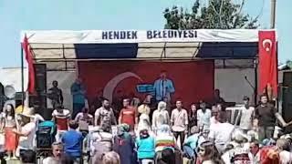 Hendek Belediye destek li Dikmen köyü yayla şenlikleri