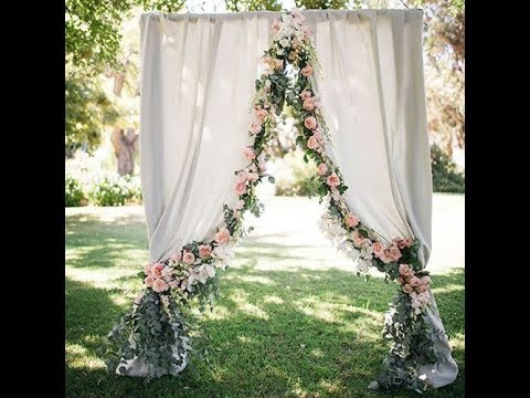 How to DIY leaves and Flowers Trim Curtain (tutorial)