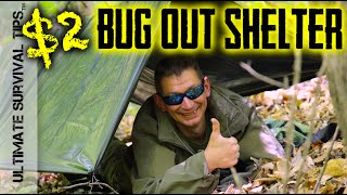 NEW! $2 Bug Out / EDC / Survival Shelter - Transform a Garbage Bag into a Life Saving Shelter